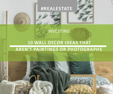 10 Wall Decor Ideas that Aren't Paintings or Photographs