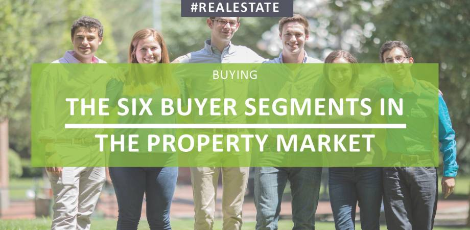 The Six Buyer Segments In The Property Market