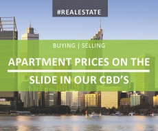 Apartment Prices On The Slide In Our CBDs