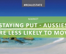 Staying Put – Aussies Less Keen to Move