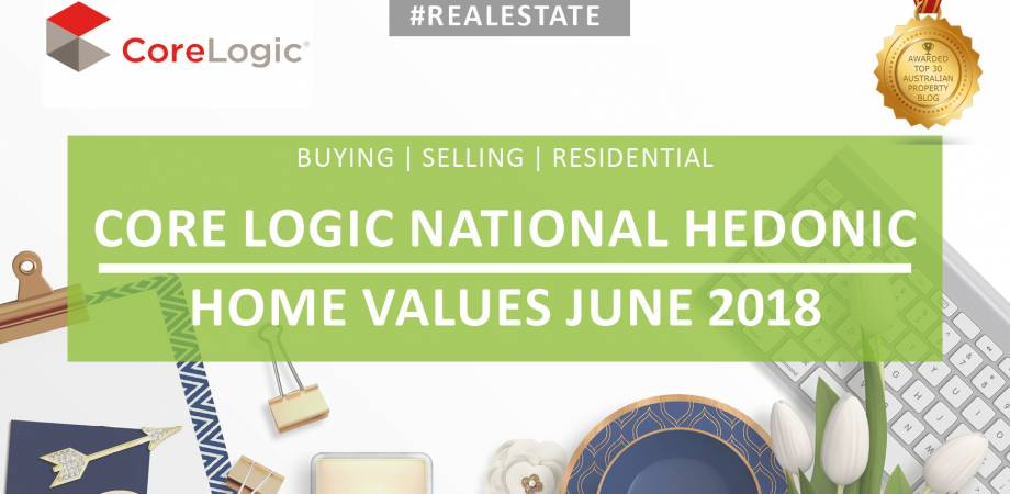CoreLogic June 2018 National Hedonic Home Value Index