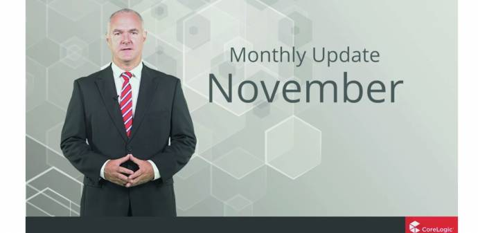 CoreLogic November 2016 Market Update