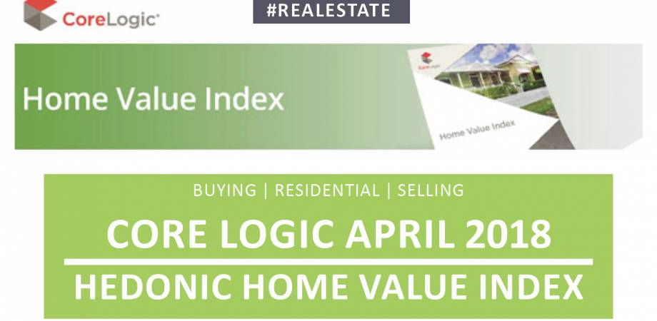 CoreLogic April 2018 Hedonic Home Value Index