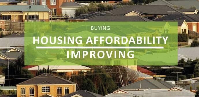 Good News! Housing Affordability Improving