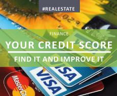 Your Credit Score - Find it & Improve It