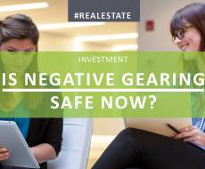 Is Negative Gearing Safe Now The Election Is Over