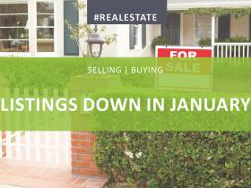 Housing Stocks Down in January 2018