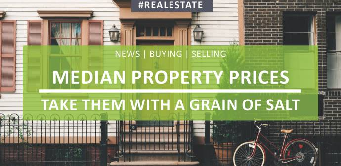 Median Property Prices - Why You Should Take Them With A Grain Of Salt