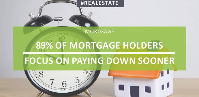 89% Of Mortgage Holders Focus On Paying Down Sooner