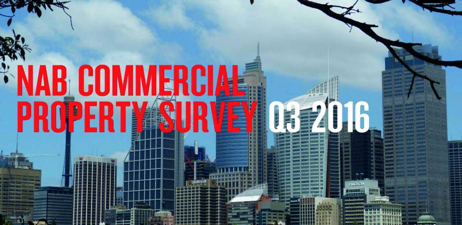 NAB COMMERCIAL PROPERTY SURVEY - Q3 2016