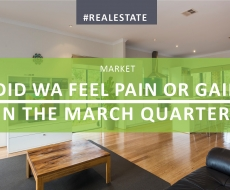 Did WA feel pain or gain in the March Quarter?