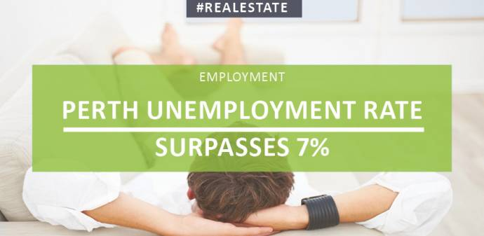 Perth Unemployment Rate Surpasses 7%