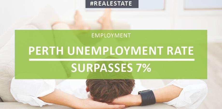Perth Unemployment Rate Surpasses 7%