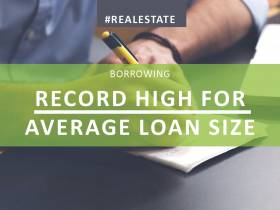 Record high for average loan size
