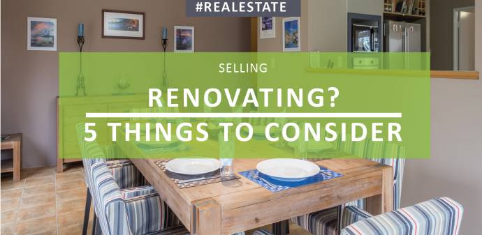 Renovating? 5 Things to Consider