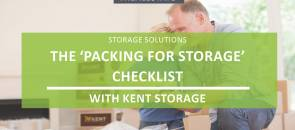 The 'Packing For Storage' Checklist