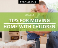 Tips for Moving Home with Children