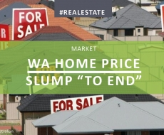 WA Home Price Slump