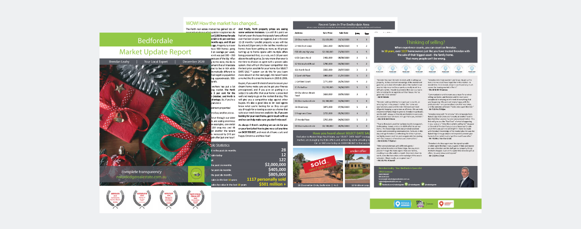 Comparable market update report Perth