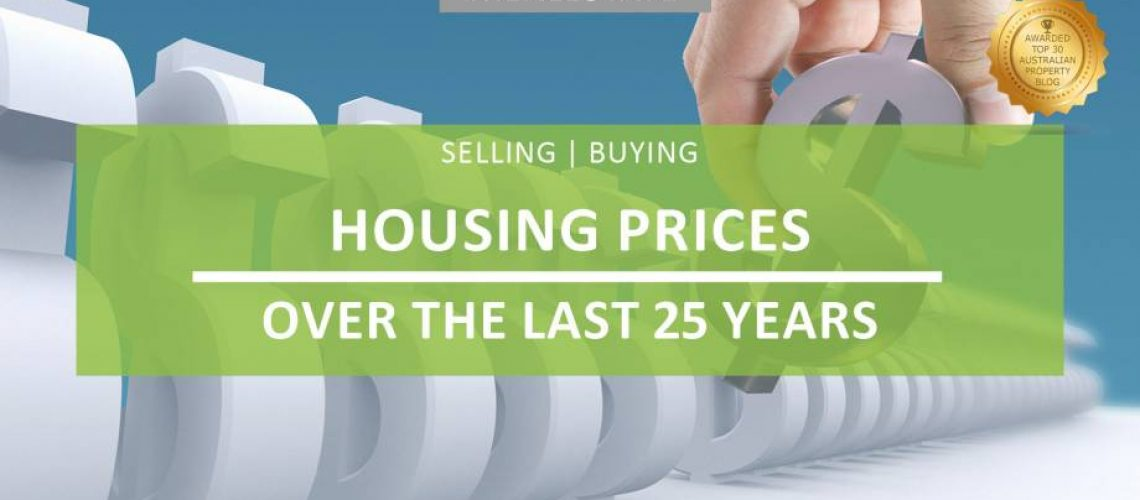 Housing prices over the last 25 years whats happened